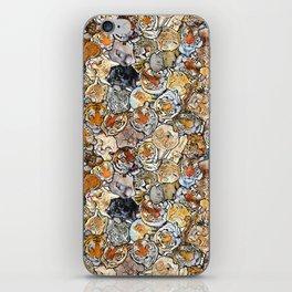 Big Cat Collage iPhone Skin