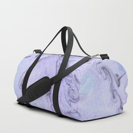 Marbly Lavender Duffle Bag