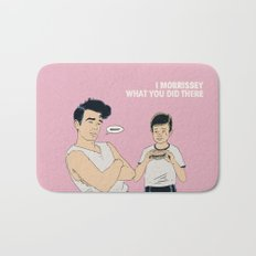 I Morrissey What You Did There Bath Mat