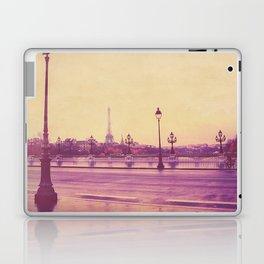 Paris, Glad to See You Again. Laptop & iPad Skin