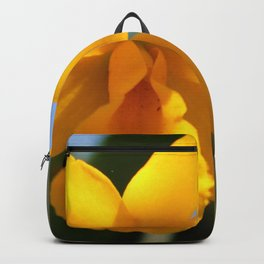 Yellow Orchid Backpack
