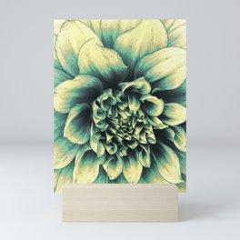 La Dahlia Blue Mini Art Print