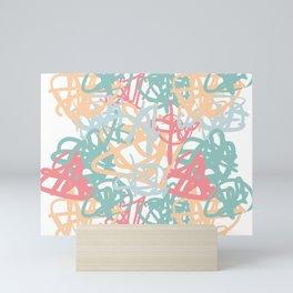 mishmash Mini Art Print