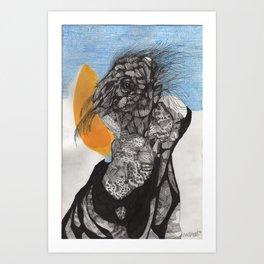 """Son He Sided Up As He Awoke"" Art Print"