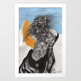 """Son He Sided Up As He Awoke"" Art Print"