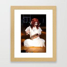 Tiefling Sorcerer Cosplay Framed Art Print