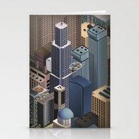 metropolis Stationery Cards featuring Metropolis by Soak