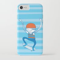 skate iPhone & iPod Cases featuring Skate by Devin Soisson