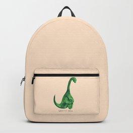 Lonely loch ness monster (loch-li-ness) Backpack