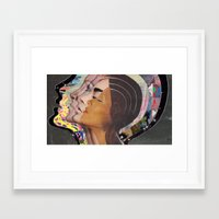 transformer Framed Art Prints featuring Transformer by Katy Hirschfeld