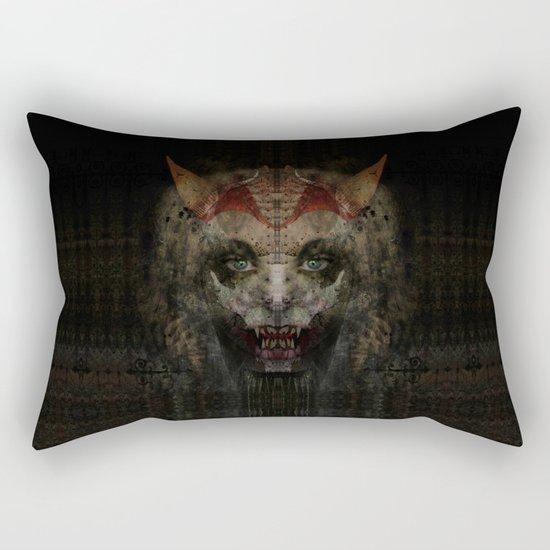 Panic Rectangular Pillow