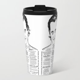 Withnail & I 'Cake & Fine Wine' Travel Mug