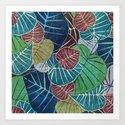 Leaf Pattern 2 by klaraacel
