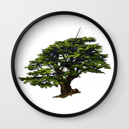 Cedar of Lebanon Wall Clock