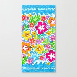 Tropical Floral Canvas Print