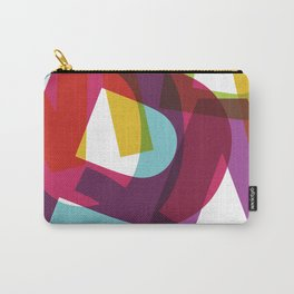 Crossletters Patterns Carry-All Pouch