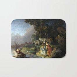 "Rembrandt Harmenszoon van Rijn, ""The Abduction of Europa"", 1632 Bath Mat"