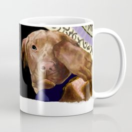 Hunter the Bashful Vizsla Coffee Mug