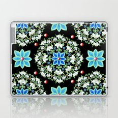 Folkloric Lily Medallion Laptop & iPad Skin