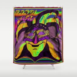MARDI ARTY Shower Curtain