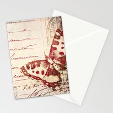 red winged Stationery Cards