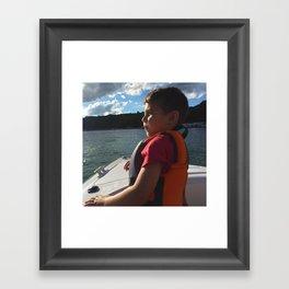 Captain Boo Framed Art Print