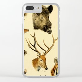 The Great and Small Game of Europe, Western and Northern Asia and America Clear iPhone Case