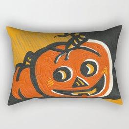 Halloween Grin Rectangular Pillow