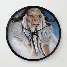 The Great White Ape Wall Clock