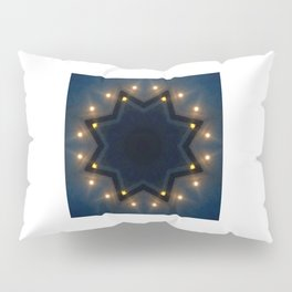 FULL MOON RISING STAR Pillow Sham