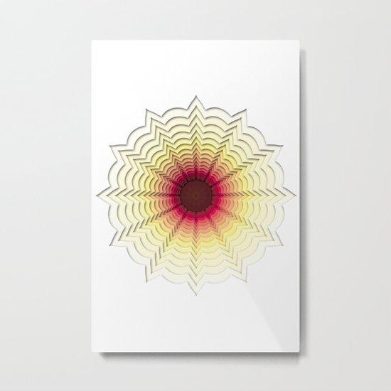 Zoom Metal Print
