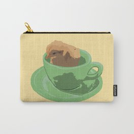 Baby Chick in Jadeite Cup Illustration Carry-All Pouch
