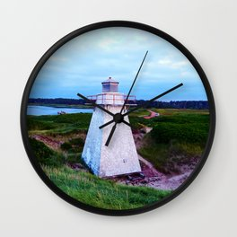 St-Peter's Harbour Lighthouse Wall Clock