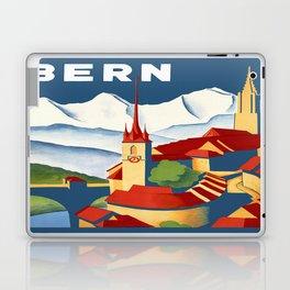 Vintage Bern Switzerland Travel Laptop & iPad Skin