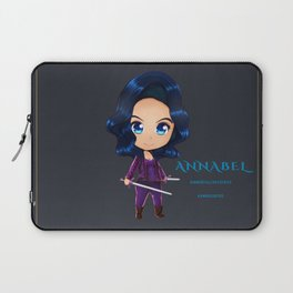 Annabel Chibi Laptop Sleeve