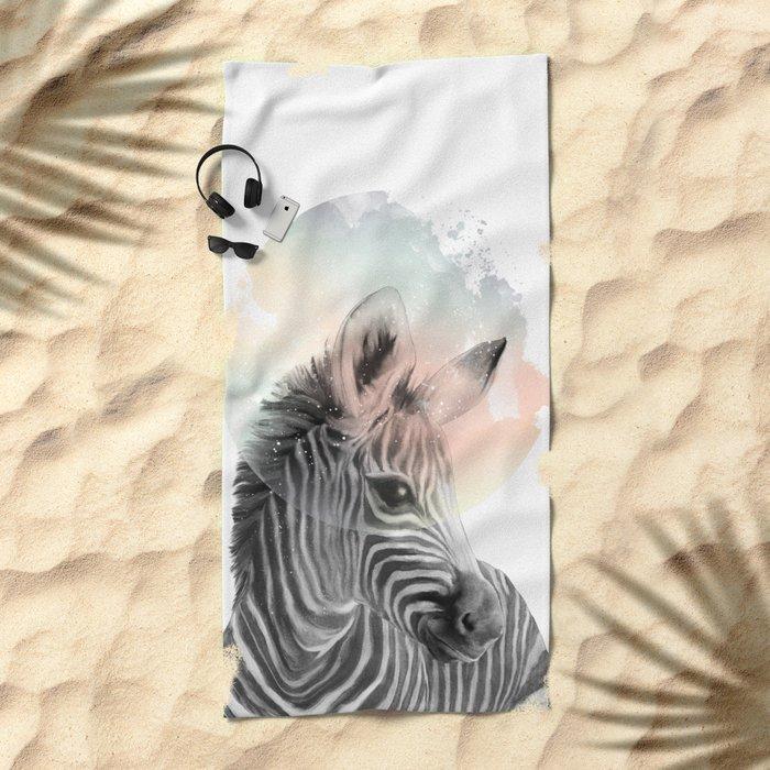 Zebra // Dreaming Beach Towel