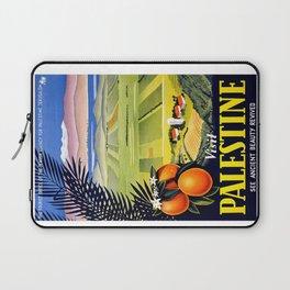 Palestine, vintage travel poster Laptop Sleeve