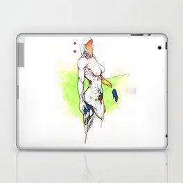 Alexandra Grace, Nude female surrealist drawing, NYC artist Laptop & iPad Skin