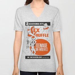 Teenage She-Wolves Unisex V-Neck