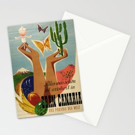 placard Gran Canaria Stationery Cards