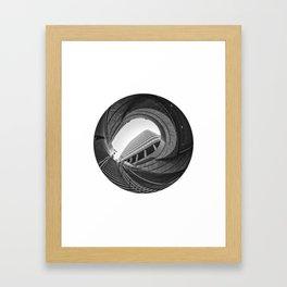 Circular Fisheye #3 Framed Art Print