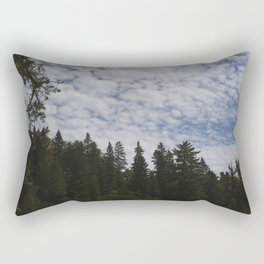 Forest skyline Rectangular Pillow