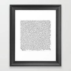 Literary Quotes Framed Art Print