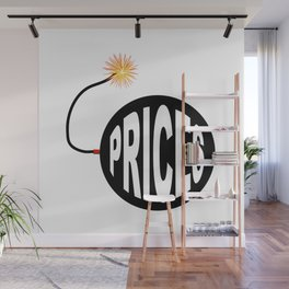 Prices Bomb And Lit Fuse Wall Mural