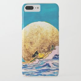 Meet You at the Moon iPhone Case