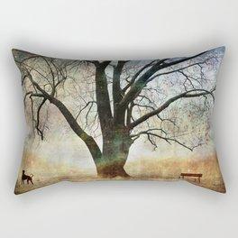 Balance and Harmony Rectangular Pillow