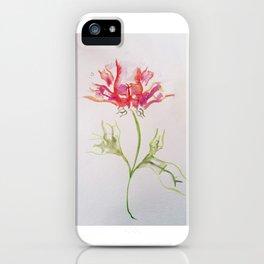Butt Flowers iPhone Case