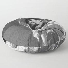 Ahead by a Century - Gord Downie Tragically Hip Floor Pillow