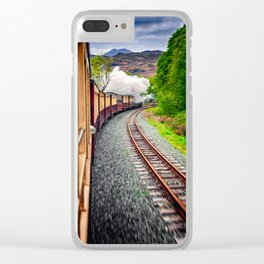 Welsh Highland Railway Snowdonia Clear iPhone Case