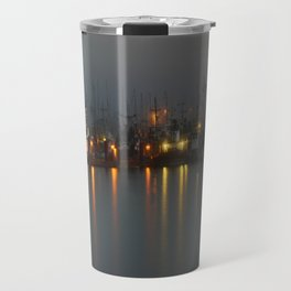 Foggy Harbour Travel Mug